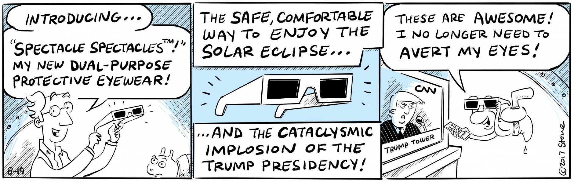 Some things shouldn't be observed without proper polarization. #Charlottesville #SolarEclipse2017 @realDonaldTrump