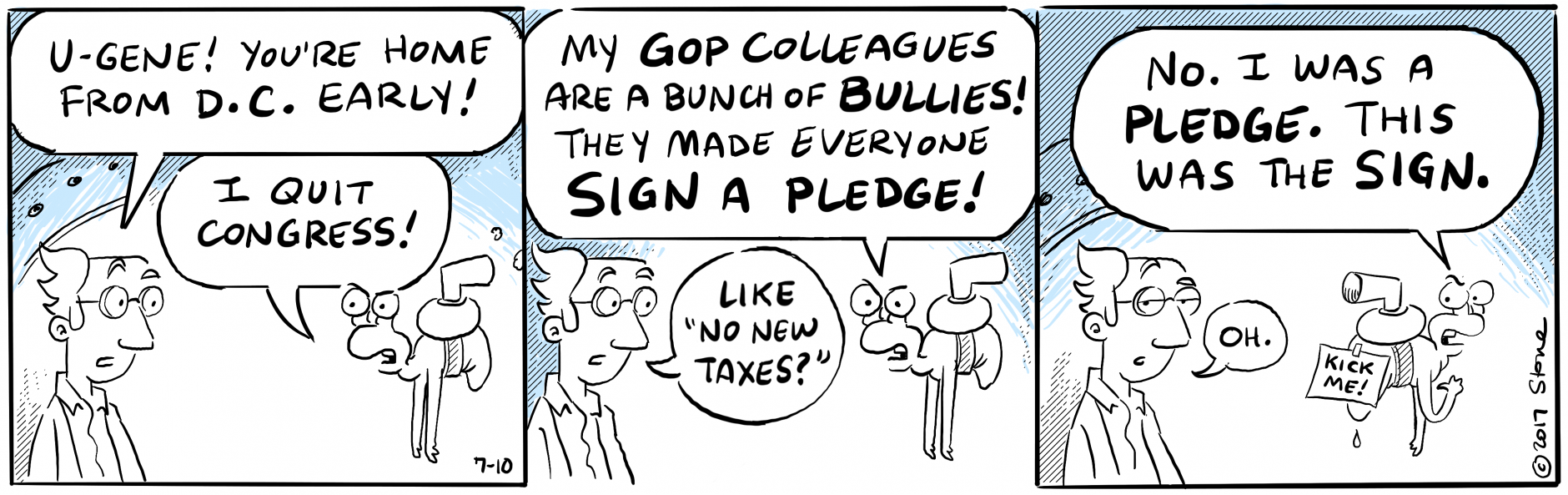 The folks at B-Lab learn that we're a nation divided. #Gerrymandering #webcomic
